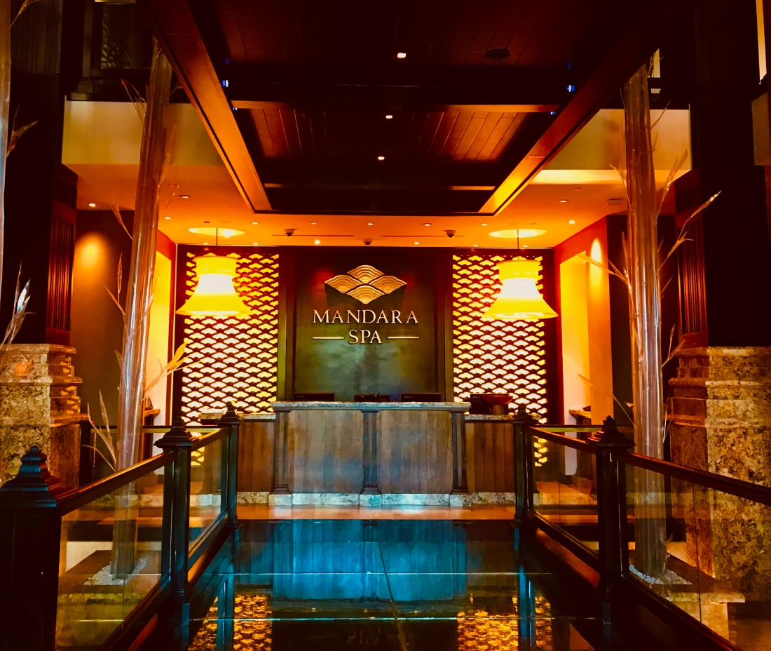 Inside the Mandara Spa at Atlantis