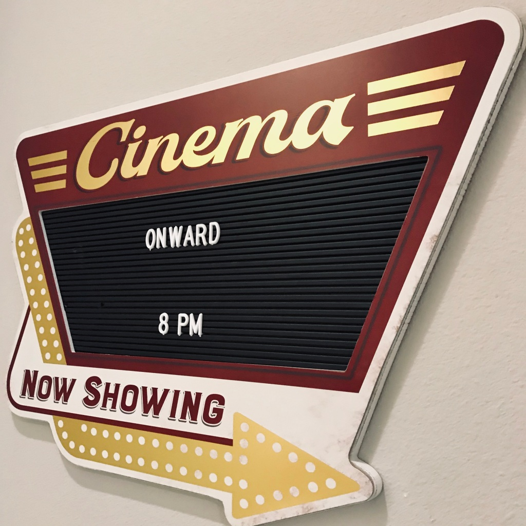 Movie letter board