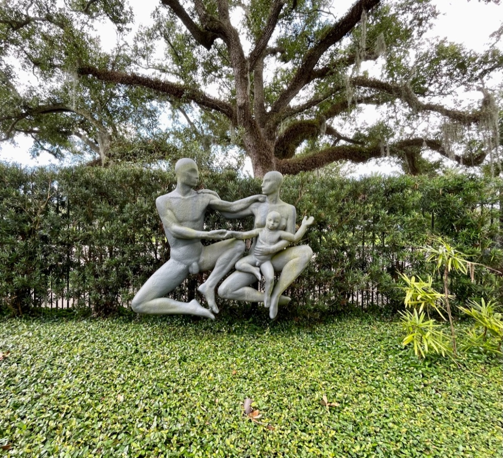 The Family is a nude sculpture that was controversial for the people of New Orleans in 1951.